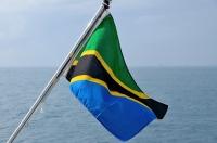 000Flagge Tansania