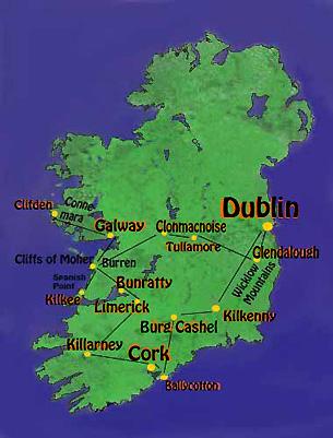 flughäfen irland karte Flughäfen In Irland Karte | My Blog flughäfen irland karte