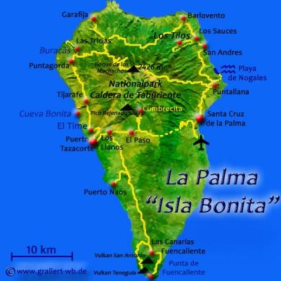 01La Palma Karte