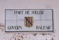 01Schild Porto Soller