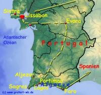 000 Portugal Karte