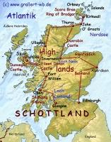 000Karte Schottland