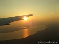 60Anflug von Darwin