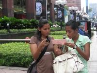 45malaysische Mädchen