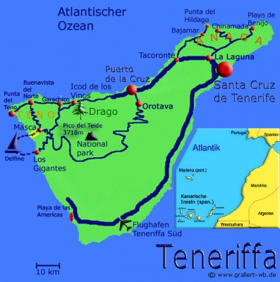 00Teneriffa Karte